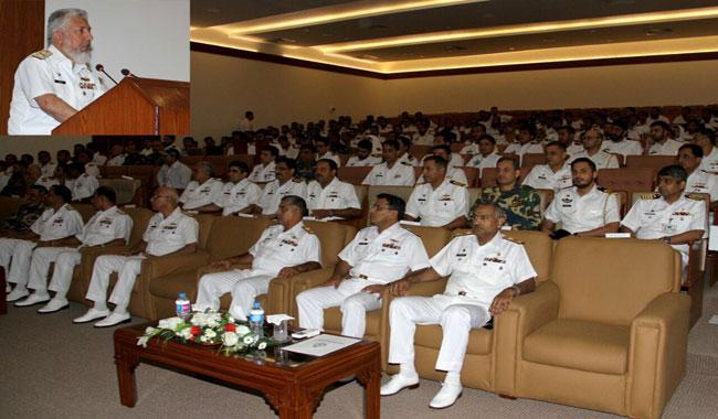 Pak Navy holds seminar on Maritime issues