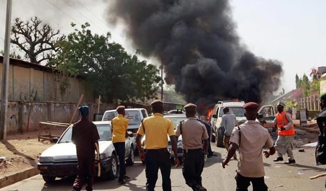 Four suicide bombers kill 12 in northeast Nigeria
