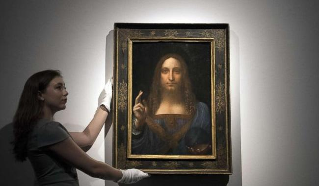 Portrait of Christ by da Vinci sells for record $611m