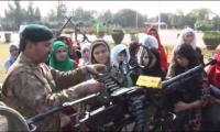 Students spend a day with Pak Army