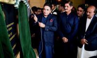 Bilawal inaugurates historic Jahangir Park in Karachi
