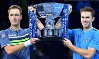 Kontinen Peers retain ATP Finals doubles crown