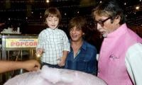 How Shahrukh's son gets excited to get cotton candy: watch video