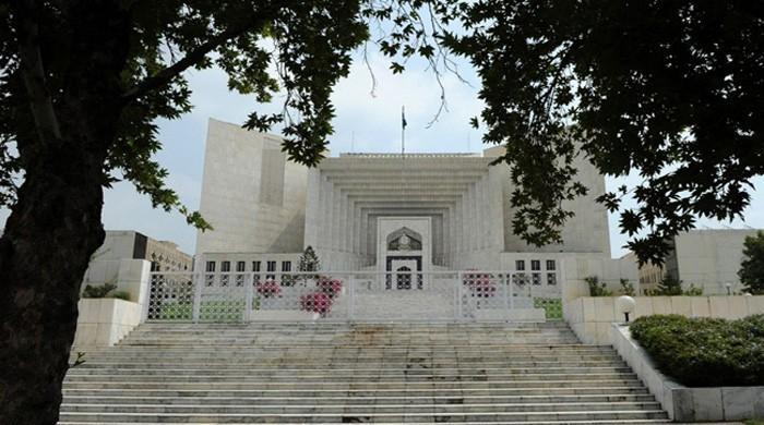 Supreme Court takes suo motu notice of Islamabad dharna