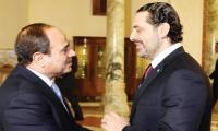 Lebanon´s Hariri meets Sisi in Egypt ahead of return home