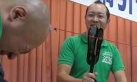 Bald men in Japan hold annual competition to celebrate baldness