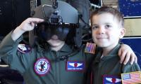 6-year-old friends become pilots for a day in US