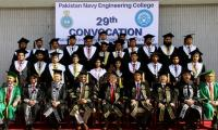 29th convocation of Pakistan Navy Engineering College held