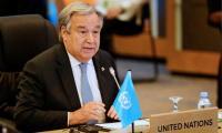 UN chief urges end to air, ground assaults in Yemen
