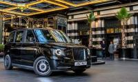 London´s iconic black cabs go electric