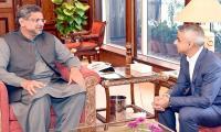 Sadiq Khan calls on PM