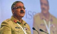 Gen Hayat delivers talk on international campaign against terrorism in Bahrain