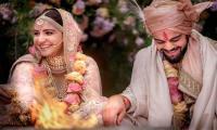 Virat Kohli,Anushka Sharma终于结了结
