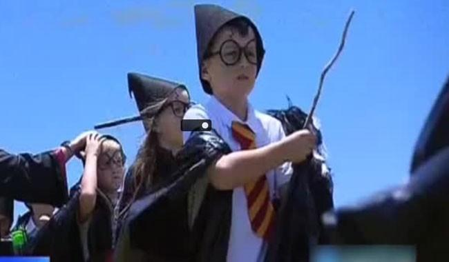 Largest crowd to dress up as Harry Potter sets new record