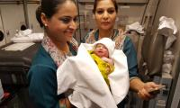 Baby on board: Woman gives birth on PIA flight