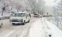 Murree receives 4-inch snowfall in last 24 hours