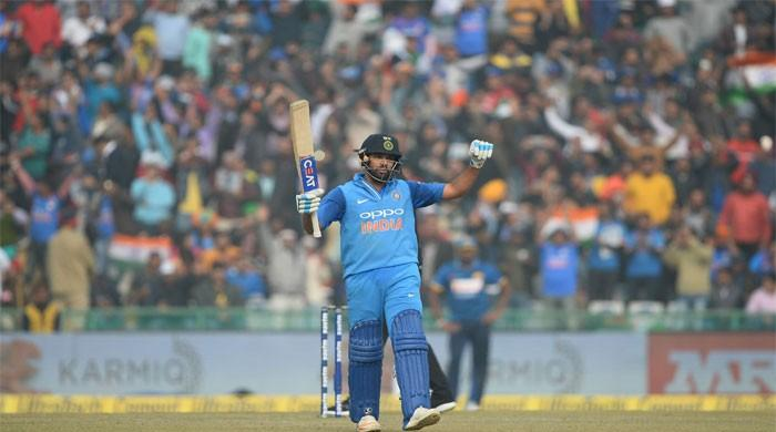 Rohit Sharma smashes third ODI double hundred