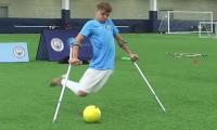 Cancer survivor, one-legged athlete makes it to England's Amputee League
