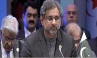 OIC summit: PM Abbasi urges US to withdraw decision on Jerusalem