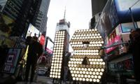 Times Square NYE 2018 numbers arrive
