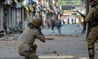 Indian troops martyr two youth, a woman in IoK