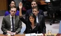 US ´will be taking names´ during UN vote on Jerusalem: Haley