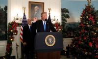 Trump threatens funding cuts ahead of Jerusalem vote