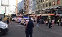 Dozen hurt as car hits crowd in Melbourne