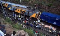 12 dead, 180 injured in S.Africa train crash