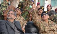 PM Abbasi, Army Chief visit SSG headquarters at Cherat