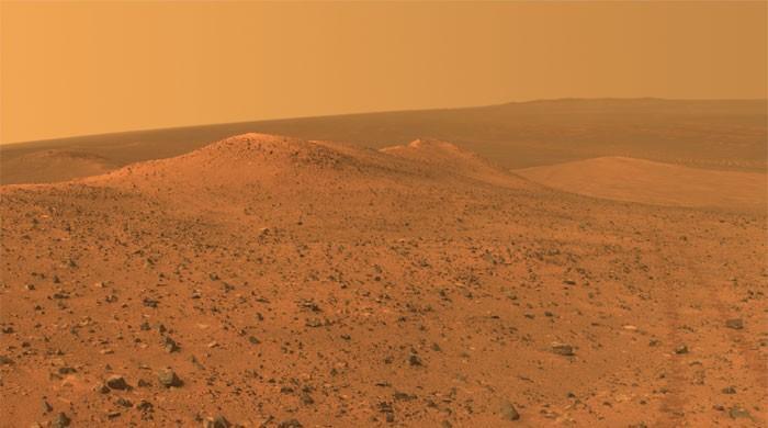 火星冰层可以在未来维持人类的前哨