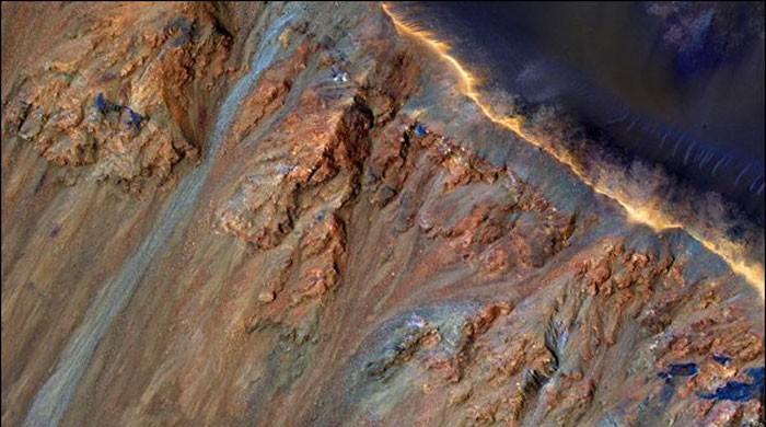 研究揭示了低于火星表面的冰水供应
