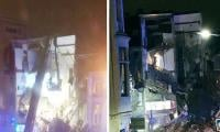 Several trapped as explosion destroys buildings in Belgium