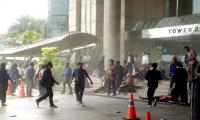 Video: Second floor of Indonesia Stock Exchange collapses, around a dozen people injured