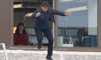 Tom Cruise back to work