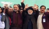 PTI, PPP on one stage as PAT protest rally kicks off in Lahore