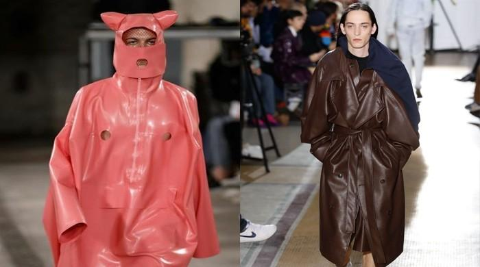 Men treated as dogs and pigs in Paris catwalk shows