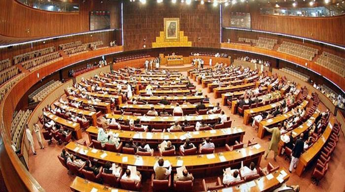 NA condemns Imran, Sheikh Rashid's remarks against parliament