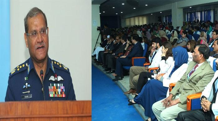 充分承诺维护巴基斯坦主权的武装力量:空军总司令