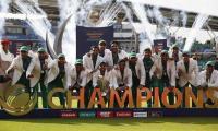 """巴基斯坦在冠军杯上对阵印度的历史性胜利宣布""""年度最佳球员"""""""