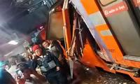 Train crashes in Mexico City suburb, killing at least 5