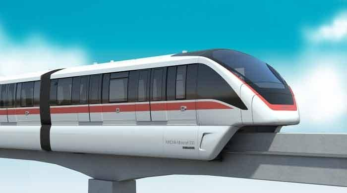 China introduces country's first driverless monorail