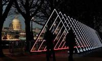 Bright lights, big city: Light art festival takes to London´s streets
