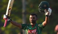 Tamim Iqbal stars as Bangladesh hit 320 against Sri Lanka