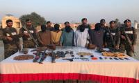Punjab Rangers arrests eight suspected terrorists