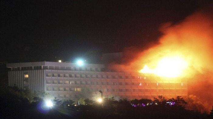Attack under way on Kabul luxury hotel: officials