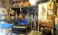 Lok Virsa's revival of dying musical instruments attracts crowd