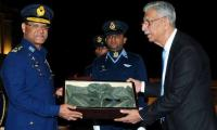 Enemies joining hands together in hatching conspiracies against Pakistan will always fail: Air Chief