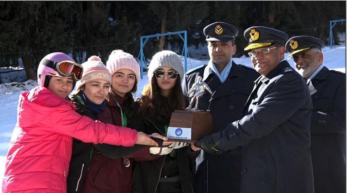 Gilgit Baltistan Scouts Lifts Saadia Khan Ski Cup