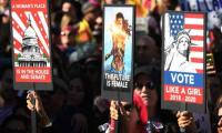 Anti-Trump Women´s Marches across US